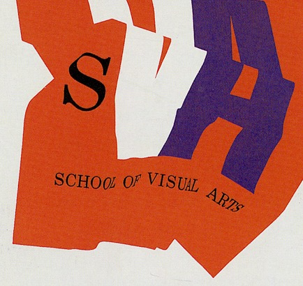 SVA promotional poster from the 50s