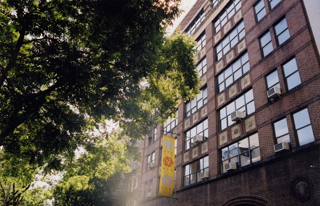 front of sva photography building