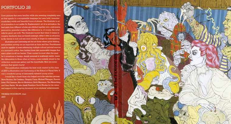 Cover of illustration book