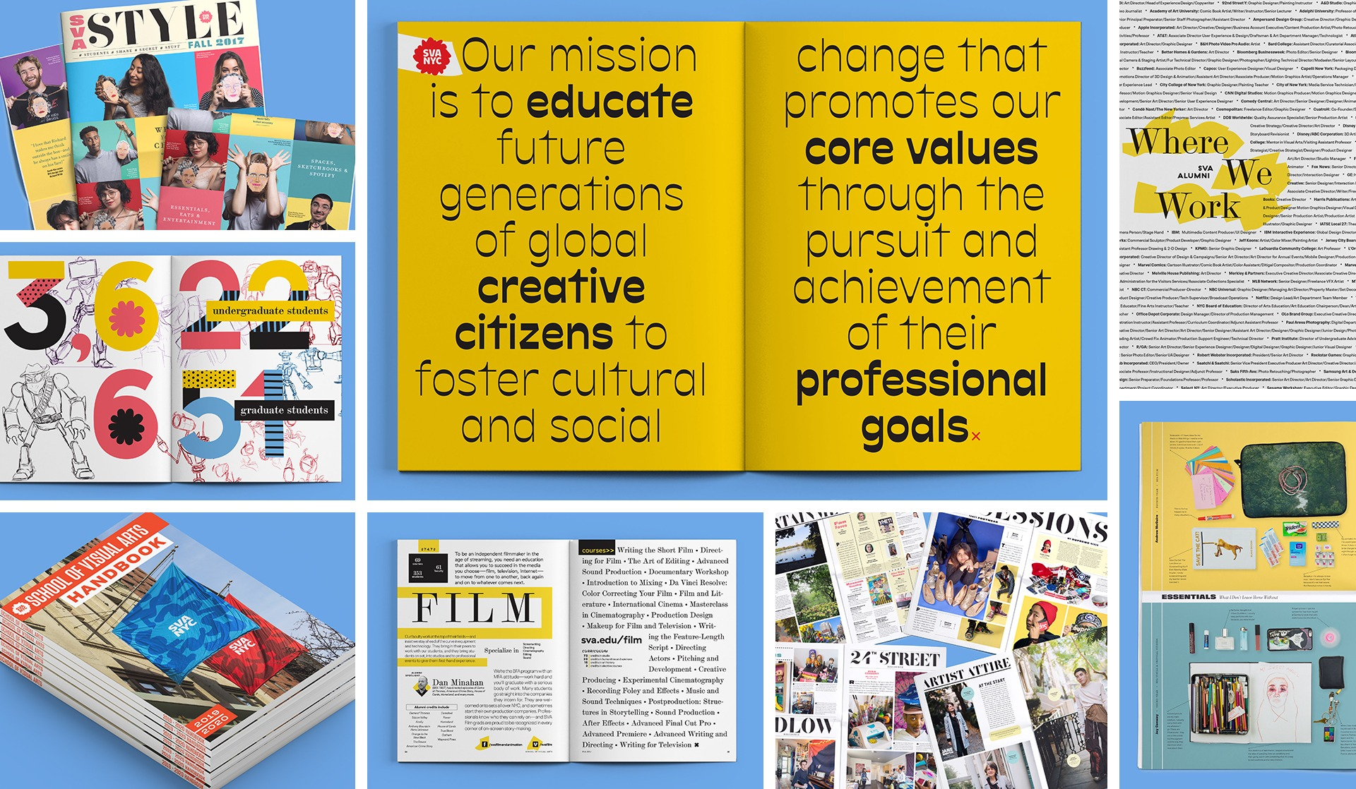 Materials published by Visual Arts Press.